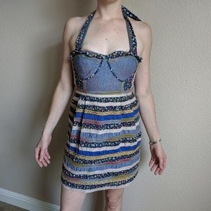Free People Summer Patchwork Dress